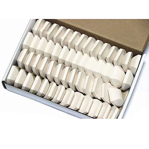 Hongso CRCB54 Parrilla de gas Briquetas de cerámica, 54 piezas por caja