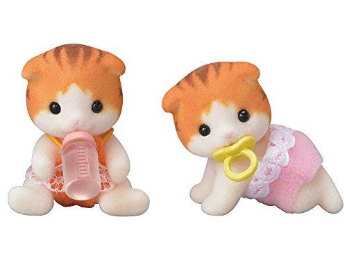 シルバニアファミリー 人形 メイプルネコのふたごちゃん ニ-102