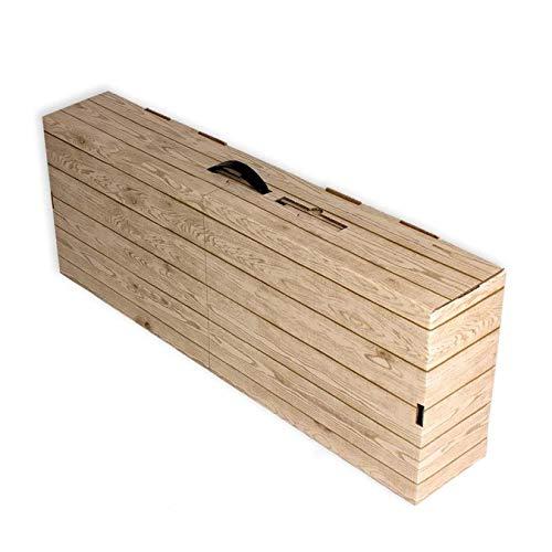 20 Cajas de cartón para jamones. Imitación caja madera