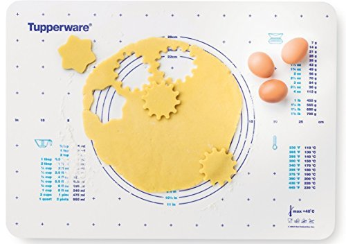 Tupperware Pastry Sheet/Pastry mat size: L 25 x 18,11 inch