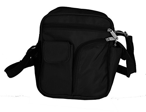 BeSafeBags by DayMakers Travel Security Guide Bag, Anti-Theft RFID Cross Body
