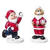 FC Bayern München Weihnachtsfigur 2er Set - Santa Claus und Berni - FCB