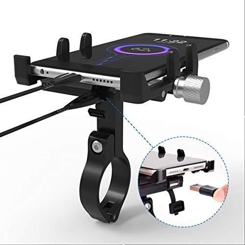 ILS – GUB G-91 Teléfono 48 V GPS soporte para cargador USB...