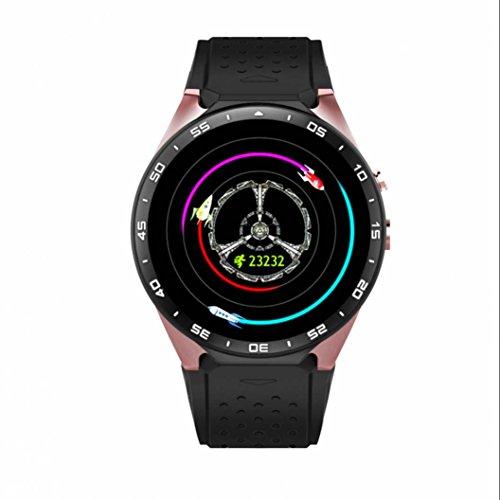 Fitness Tracker Armband smart watch Sport Uhr Heart Rate Monitor Langlebig Aktivitätstracker Wearable Devices Schlaftracker handy uhr Der einzigartige Seitenschlitz mit Musik Player und Schrittzähler