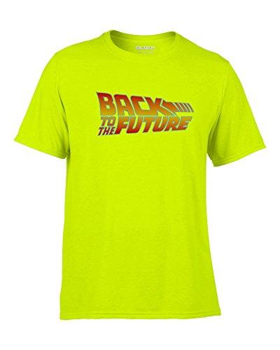 ZURÜCK IN DIE Zukunft Back to The Future Fun T-Shirt -073-Gelb (M)