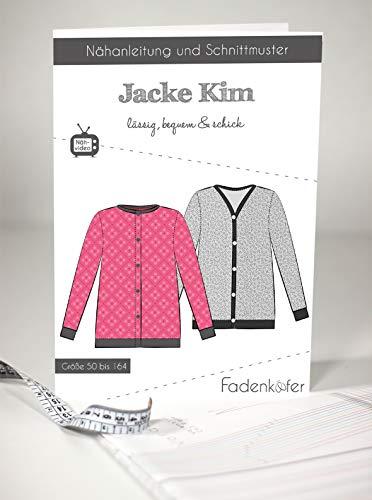 Schnittmuster und Nähanleitung - Kinder Jacke - Kim