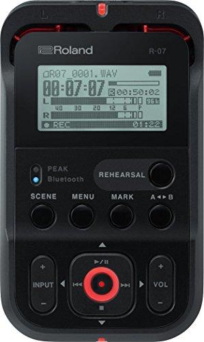 Roland R 07 - Gravador de Audio Portatil (preto)