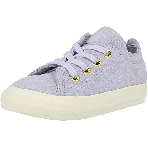 Converse Infant Girl Chuck Taylor All Star Ox Oxygen Purple US 6