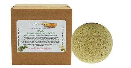 Funky Soap Heiligenschein Erfrischend Badebombe, 1 Stück 5cm Durchmesser