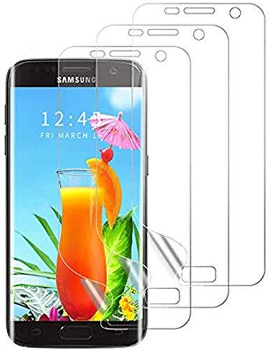Schutzfolie Kompatibel mit Samsung Galaxy S7, [3 Pack] Full Cover HD Weich Folie Anti-Kratzer TPU Displayschutzfolie für Samsung Galaxy S7(Nicht Panzerglas)
