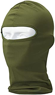 Your Choice Balaclava Face Mask Cold Weather Winter for Hunting, Green