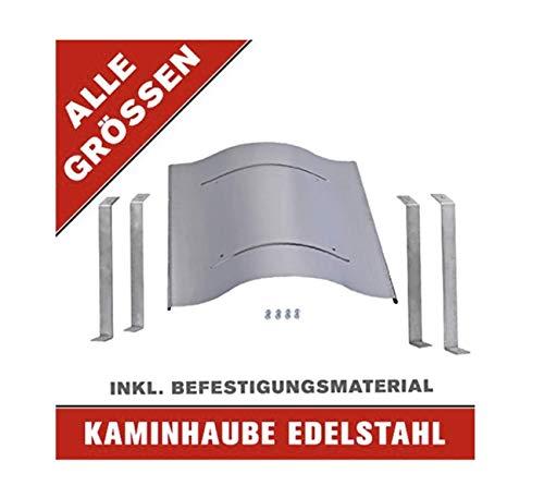 Schornsteinabdeckung Kaminhaube Kaminabdeckung ALLE GRÖßEN aus Edelstahl JETZT perfekt SCHÜTZEN! (40 x 50 cm)