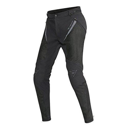 Dainese Damen Pantaloni Tessuto Drake Super Air Lady Tex Pants Motorradhose Damen Sommer, Schwarz, 44 EU
