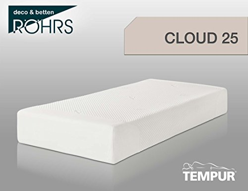 Tempur Cloud 25 matras, crème/wit, 80 x 200 x 25 cm