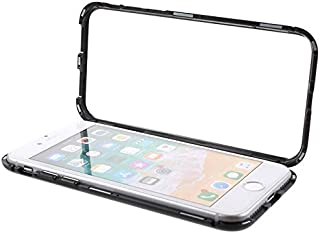 Apple iPhone 7/8 (4.7) Case Cover,Magnetic Adsorption Metal Bumper 360 Glass Case Cover For iPhone 7/8 Mobile