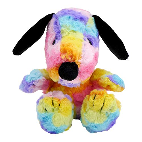 Hallmark Snoopy Stuffed Animal in All-Over Colorful Pattern (Rainbow)