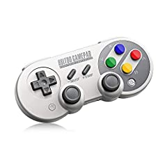 Ultra-compatible with Nintendo Switch, Windows, macOS, & Android Rumble vibration, Motion controls, USB-C Wireless Bluetooth and direct USB connectable with built in lithium ion battery D-Input and X-Input functionality Connectivity:Wireless Bluetoot...