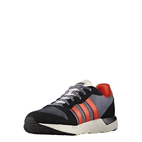 adidas Cloudfoam City Racer zapatillas Hombre, Negro (Negbas/energi/onix), 40 EU