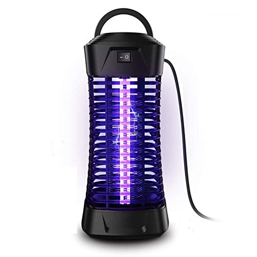 pzqzmar Electric Bug Zapper Mosquito Killer Lamp Insect Flying Trap Attractant Mosquitoes Zappers Pest Control with UV Light for Indoor