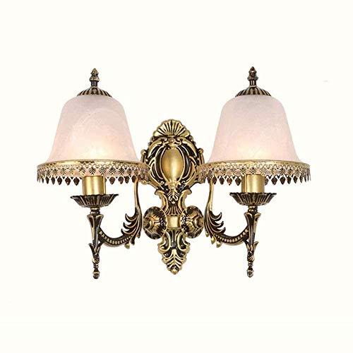 Moderne bronzen wandlamp metallic vorststijl klassieke stijl eetkamer slaapkamer nachtkastje Aisle decoratie TV wandverlichting voor woonkamer, slaapkamer of gras