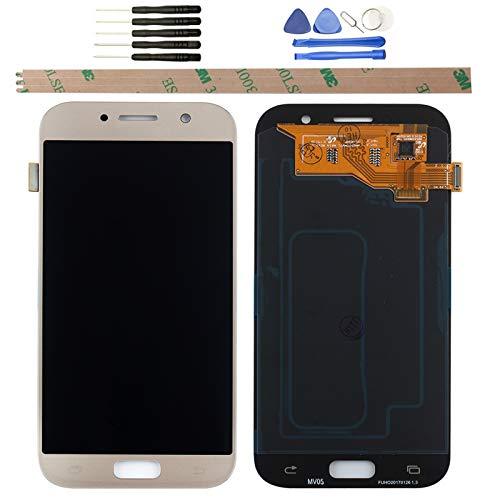 YHX-OU per 5.2' Samsung Galaxy A5 2017 A520 A520F di Riparazione e Sostituzione LCD Display + Touch Screen Digitizer con Utensili Inclusi (D'oro)