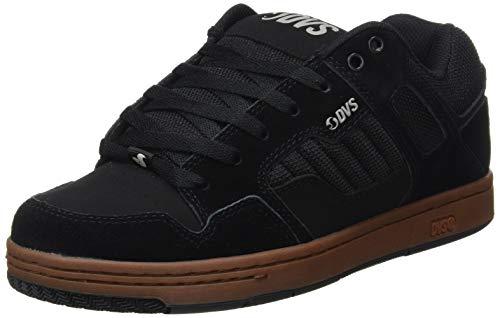 DVS Enduro 125, Chaussures de Skateboard Mixte, Noir (Black Gum Nubuck 019), 45 EU