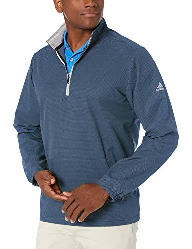 adidas Golf Men's Club Wind Jacket, Collegiate Navy, Small
