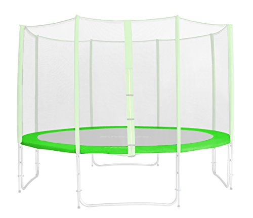 SixBros. Randabdeckung Grün für Gartentrampolin 1,85 M - 4,60 M - Ersatzteil Federabdeckung PVC - RA-1957 - Größe 3,70 m 4L