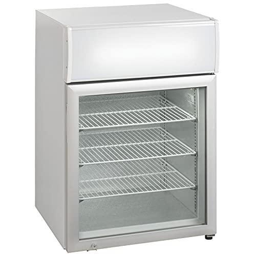 Mini armario refrigerado de Encimera con puerta de cristal – 100 litros – R290 1 puerta cristal