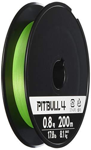 シマノ(SHIMANO) PEライン ピットブル 4本編み 200m 0.4号 ライムグリーン 8.6lb PL-M64R 釣り糸