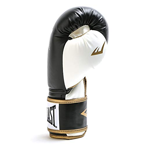 Everlast P00000726 Powerlock Training Glove Black/White 16 oz