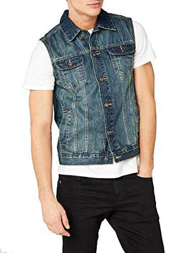 Urban Classics heren vest Denim Vest