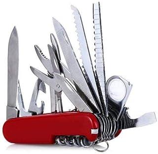 Rag & Sak® Multifunctional 17 In 1 Swiss Pattern 91mm Folding Knife Stainless Steel Multi-tool army Knife