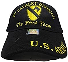 Infinity Superstore 1st Cavalry Division The First Team U.S. Army Division Embro Hat