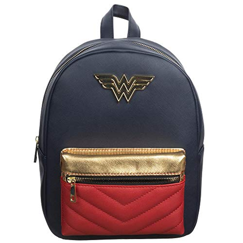Wonder Woman Comic Book Superhero Mini Backpack Fan Gear