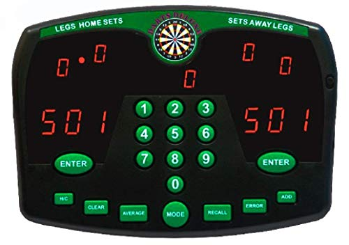 Thomas & Anca Club Supplies Ltd Darts Deluxe Elektronische Dart-Scoreboard