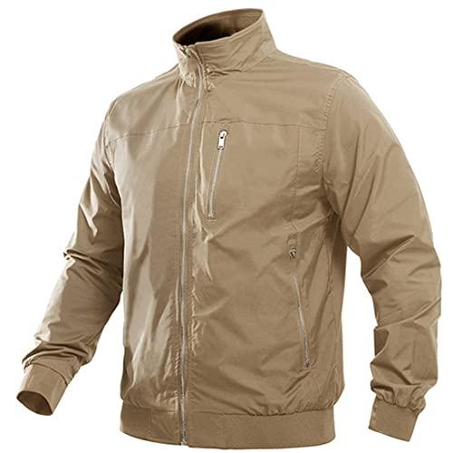 NP Chaqueta casual de primavera chaqueta para hombre abrigo de piloto con