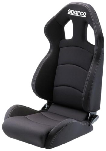 Sparco Chrono Road Black Seat