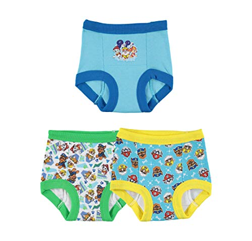 Nickelodeon Toddler Boys' Paw Patrol Boy 3 Pack Training Pant, Assorted, 3T