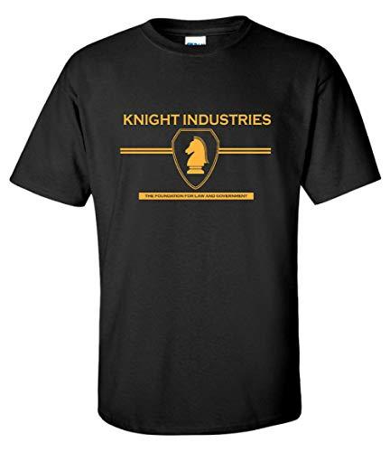 Knight Industries Knight Rider T-shirt, Gildan Cotton, S to 3XL