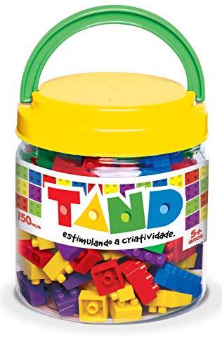 Toyster Tand Brinquedo para Montar, 150 Peças, Multicor, 1943