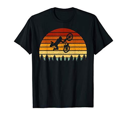 Vintage Sonne BMX Geschenk für BMX-Fahrer T-Shirt