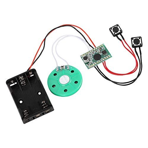Módulo de Chip de Reproductor de grabación de Voz de Sonido Musical regrabable de 30 Segundos, para Tarjetas de felicitación DIY/Juguetes
