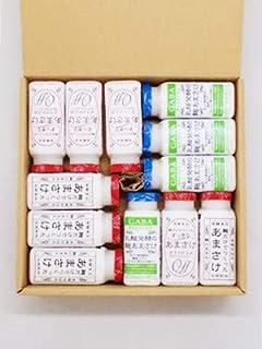 八海山あまさけ ノンアルコール 麹だけでつくったあまさけ4本 すっきりあまさけ4本 乳酸発酵の麹あまさけGABA(ギャバ) 4本 ギフトBOX入り 各118g 計12本 要冷蔵