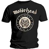 Motorhead Men's MHEADTEE50MB03 T-Shirt, Black, Large