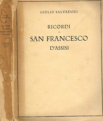 Ricordi di San Francesco d'Assisi.