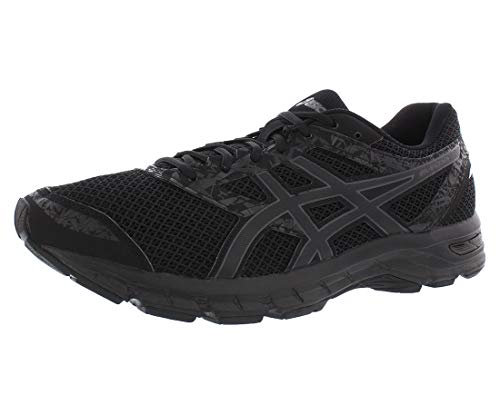 ASICS Gel-Excite 4 Men's Running Shoe, Black/Carbon/Black, 11.5 M US
