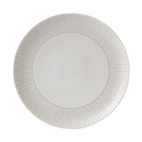 Royal Doulton ED Stripe dinerbord ø 28cm, Weiß, 9.1x9x9 cm