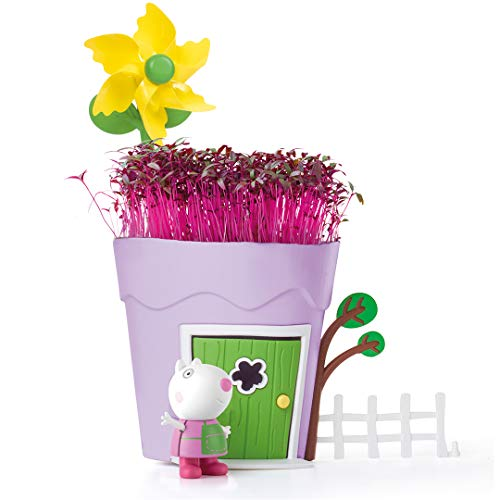 Peppa Pig PP104 Peppa Pots Sheep Kids' Animal & Insect Habitat Kits, Multi