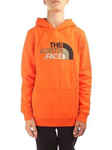 The North Face Y Drew Peak Po Hdy Persian Orange M (Kids)
